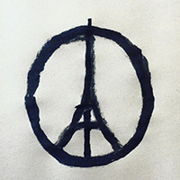 Peace for Paris - novembre 2015