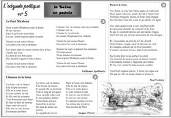 poésie de jacques prévert la seine a rencontré paris