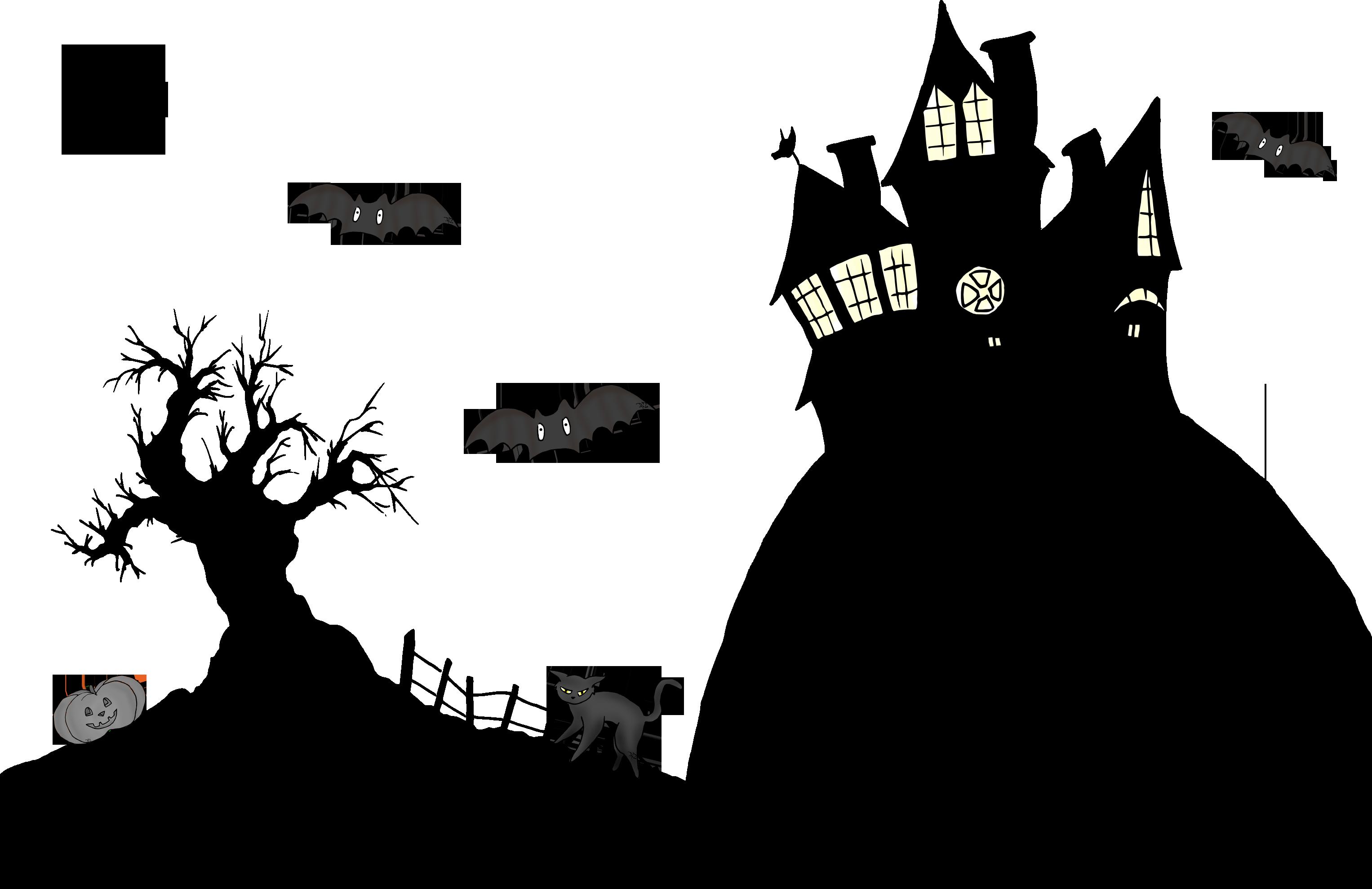 Les poz pr parent halloween la classe des gnomes - Manoir dessin ...