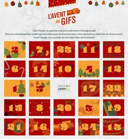 Des calendriers de l 39 avent en ligne la classe des gnomes - Que mettre dans un calendrier de l avent pour adulte ...