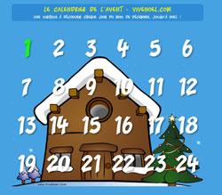 Calendrier de l'avent Vive Noël