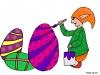 Décoration d'œufs de Pâques