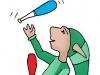 PoZ le jongleur vert