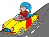 PoZOui dans son taxi