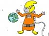 PoZ astronaute