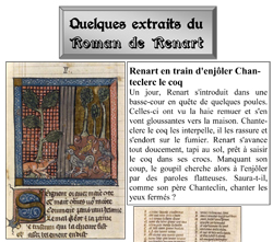 Le Roman de Renart - extraits