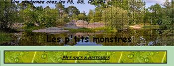 Les P'tits monstres - sacs à histoire