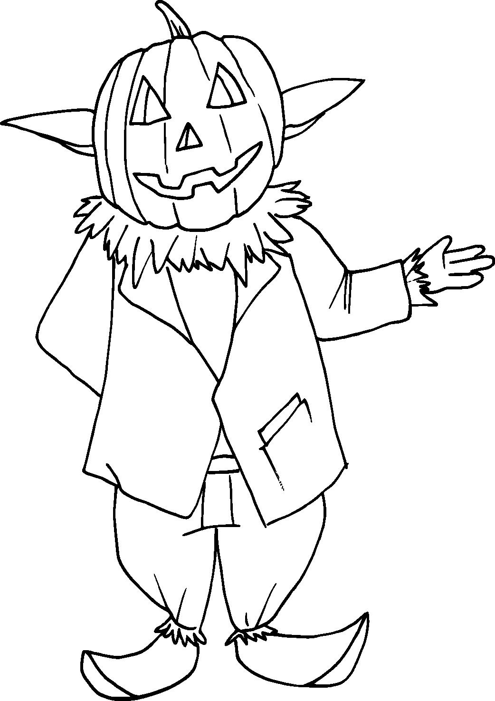 PoZ déguisé en citrouillé