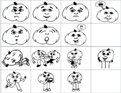 Emotions and actions - flashcards emotions