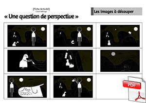 Court-métrage Une question de perspective - Chronologie du film
