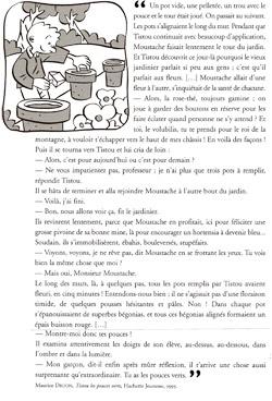 Tistou les pouces verts extrait de maurice druon ce1 - Effroyables jardins questionnaire de lecture ...