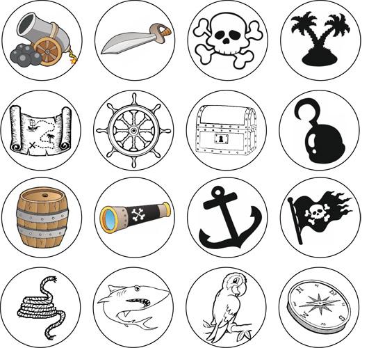le bateau pirate jeu sur les inf rences cm la classe. Black Bedroom Furniture Sets. Home Design Ideas