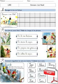 Demain Cest Noël Claire Masurel La Classe Des Gnomes