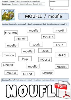 grande remise sélectionner pour l'original bonne qualité La moufle - Robert Giraud - éd° Père Castor ~ La Classe des ...