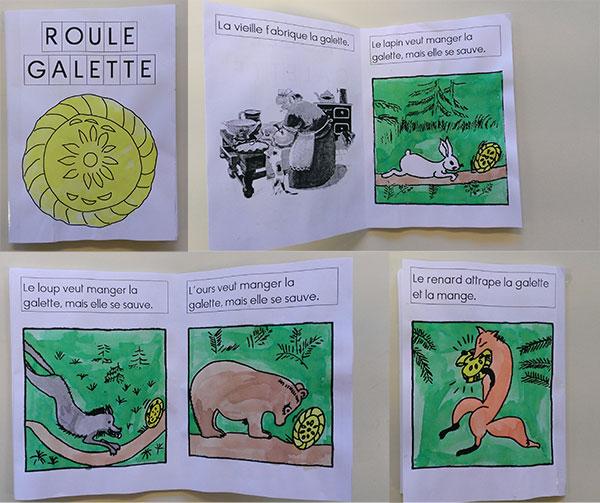 Coloriage Animaux Roule Galette.Roule Galette Exploitation D Album Cycle 1 La Classe Des Gnomes