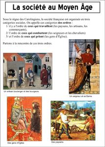 La société médiévale du XIe au XIIIe siècle 2nde Histoire