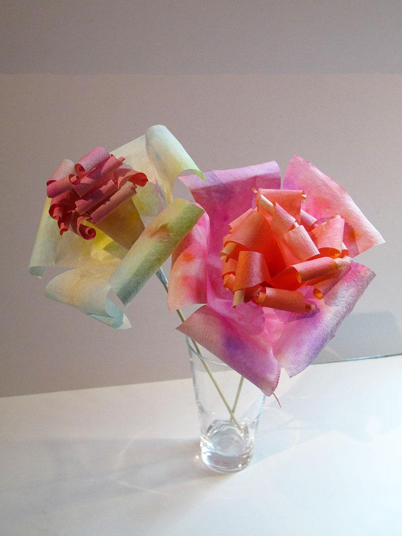 Fleurs en filtre