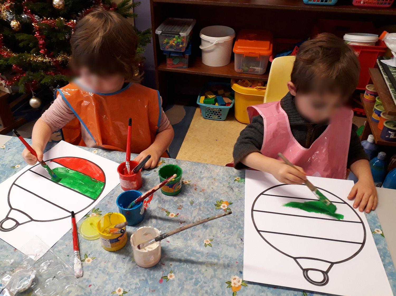 Maternelle - La boule de Noël ~ La Classe des gnomes