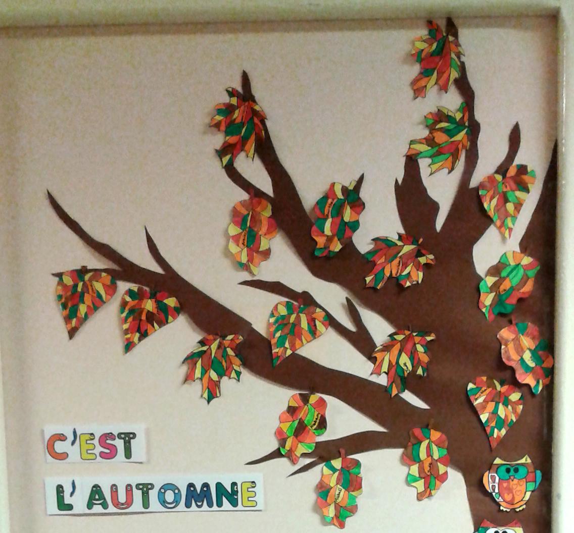 L 39 automne en classe de cle la classe des gnomes for Idee decoration porte de classe