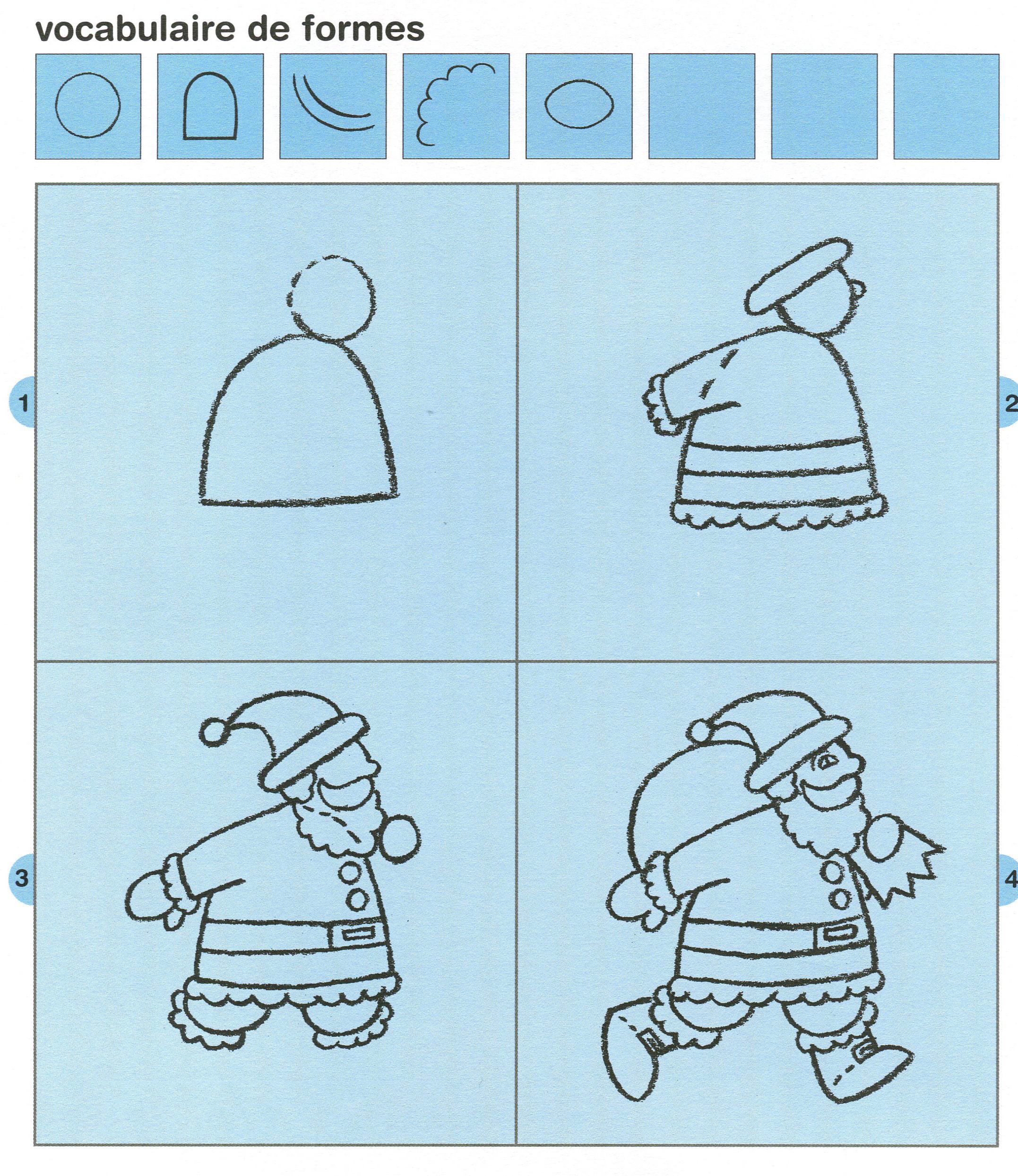 Dessin Guidé Je Dessine Noël La Classe Des Gnomes