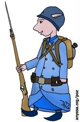 PoZ soldat de la Grande guerre