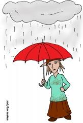 PoZie sous la pluie