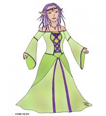 L'elfe Méduse sans aile