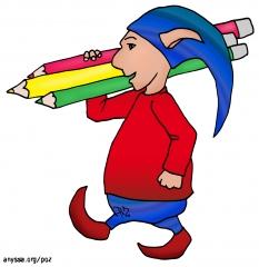 Transport de crayons
