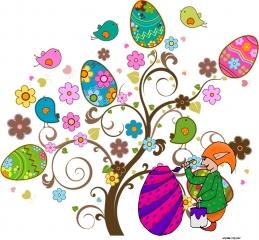 L'arbre à œufs de Pâques