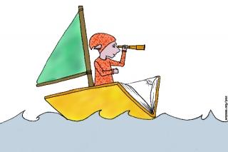 PoZ sur le bateau-livre