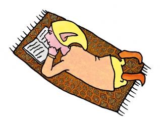 PoZ le lecteur allongé