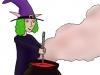 PoZie la sorcière - mixture au chaudron