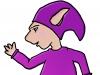 Un PoZ violet