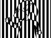 Un PoZ op'art, à la manière de Vasarely