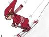 PoZie la skieuse