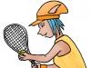 PoZie la joueuse de tennis